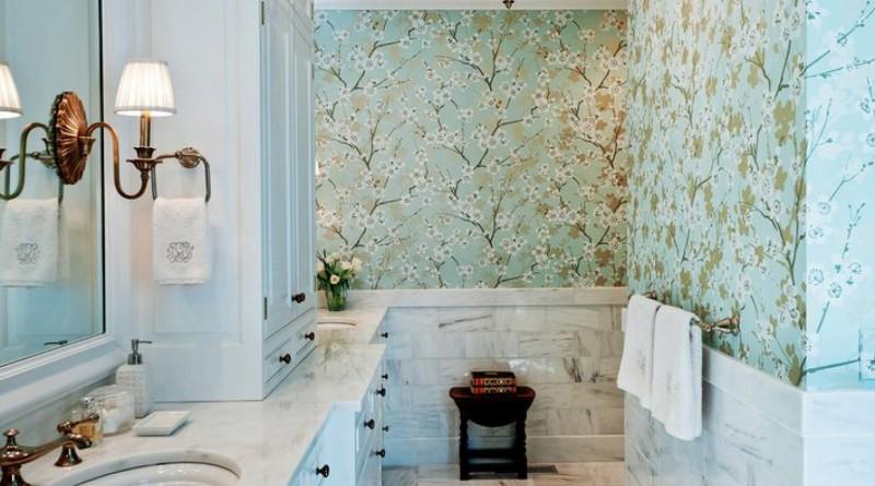 Дизайн ванной комнаты с весенними нотами
