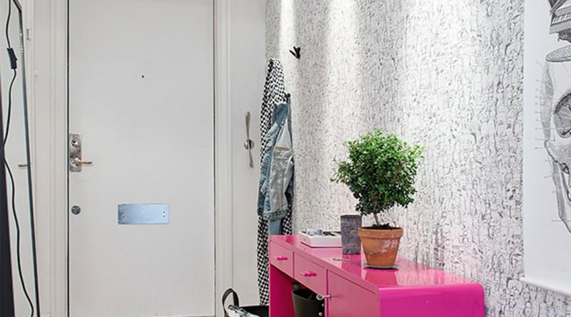 декоративная отделка стен в прихожей