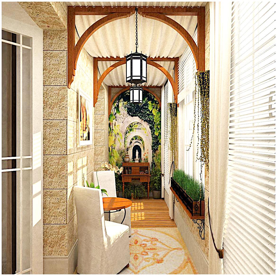 Балкон и лоджия в стиле прованс своими руками: идеи и решения
