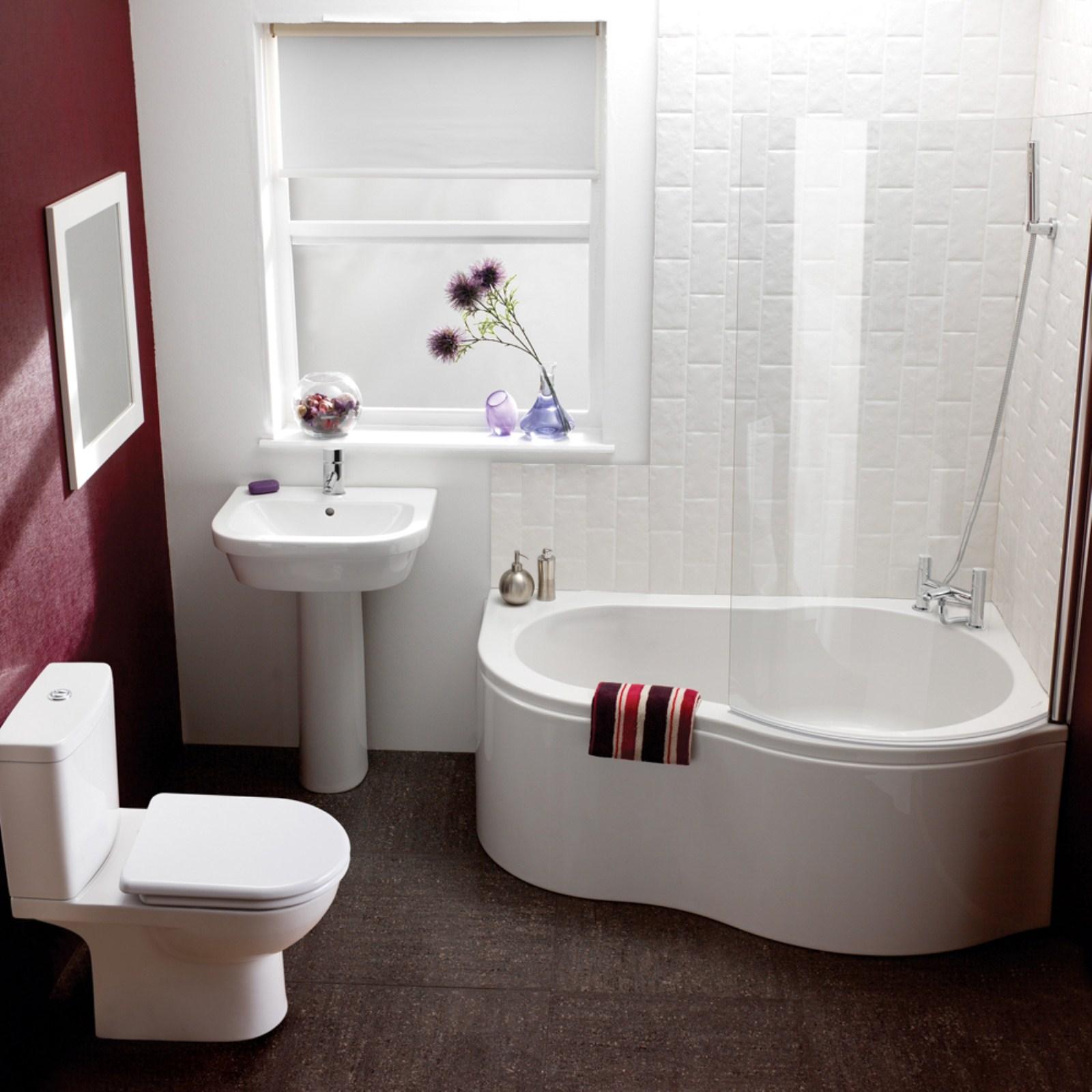 Дизайн ванной комнаты небольшого размера.