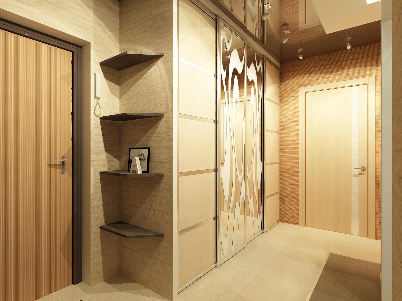 Интерьер в прихожей в квартире (30 фото): цвет и принципы ди.