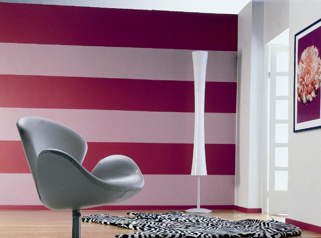 Дизайн окрашенные стены