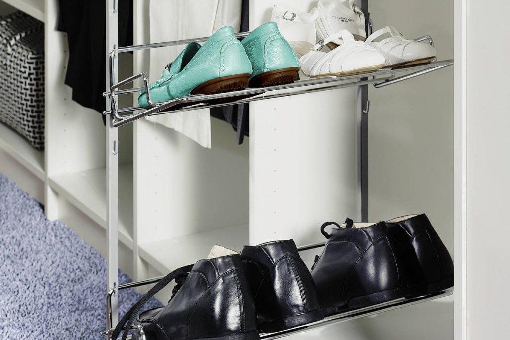Модуль для хранения обуви в гардеробную