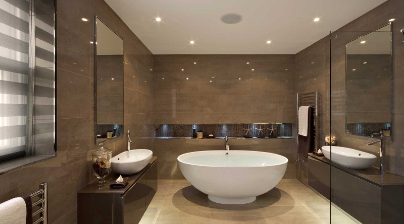 Дизайн ванной комнаты в современном стиле