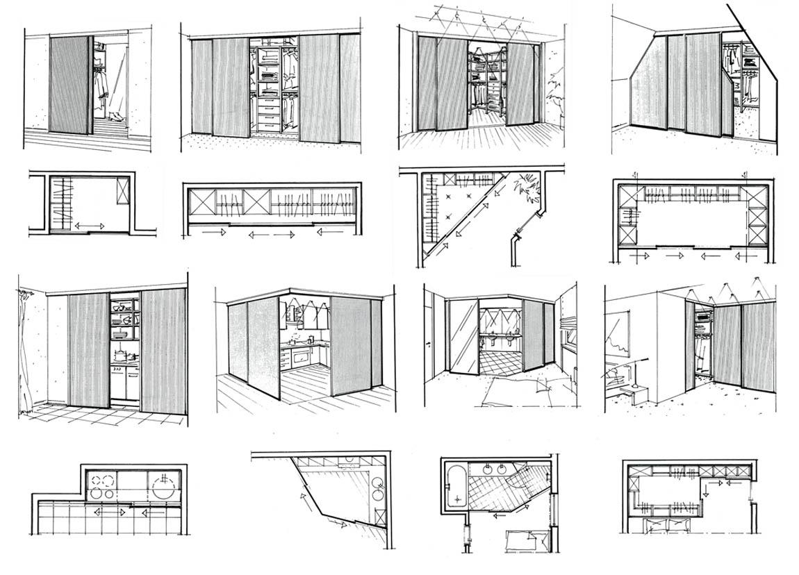 Схема гардероба своими руками чертежи 146