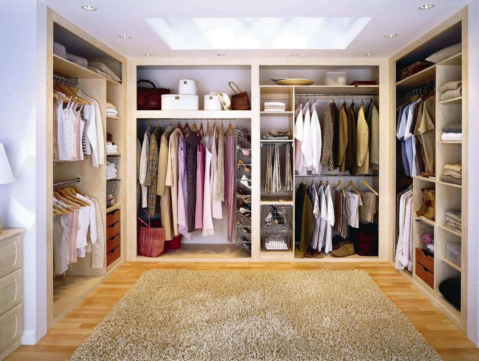 Фото гардеробных комнат своими руками