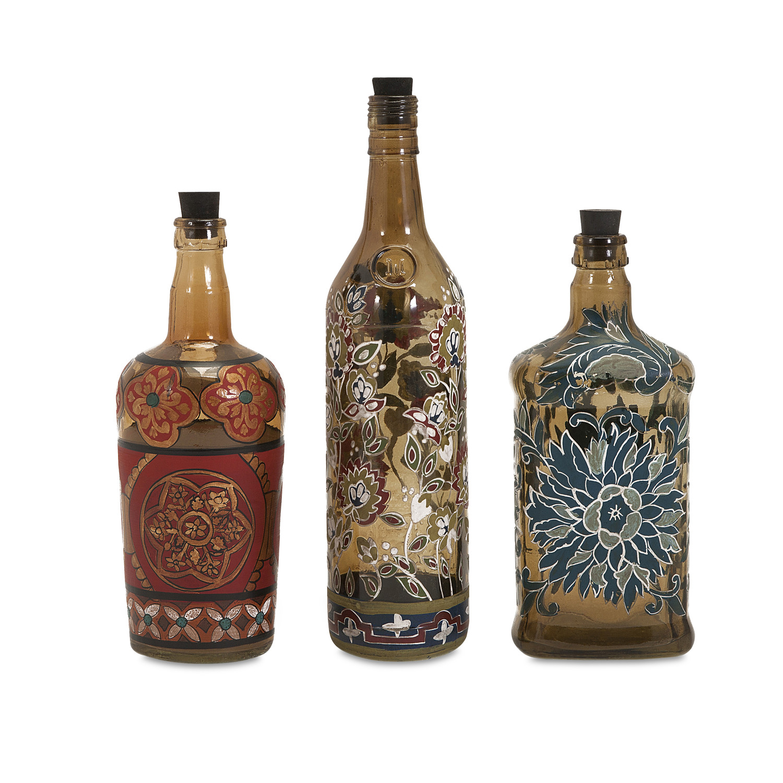 Мастер класс декор бутылок кожей