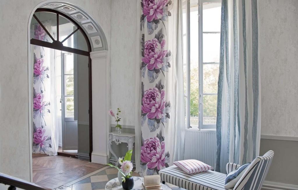 шторы в интерьере
