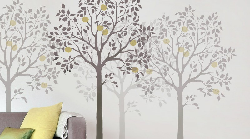 обои с деревьями
