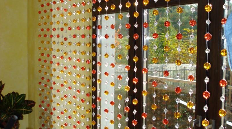 шторы из бусин