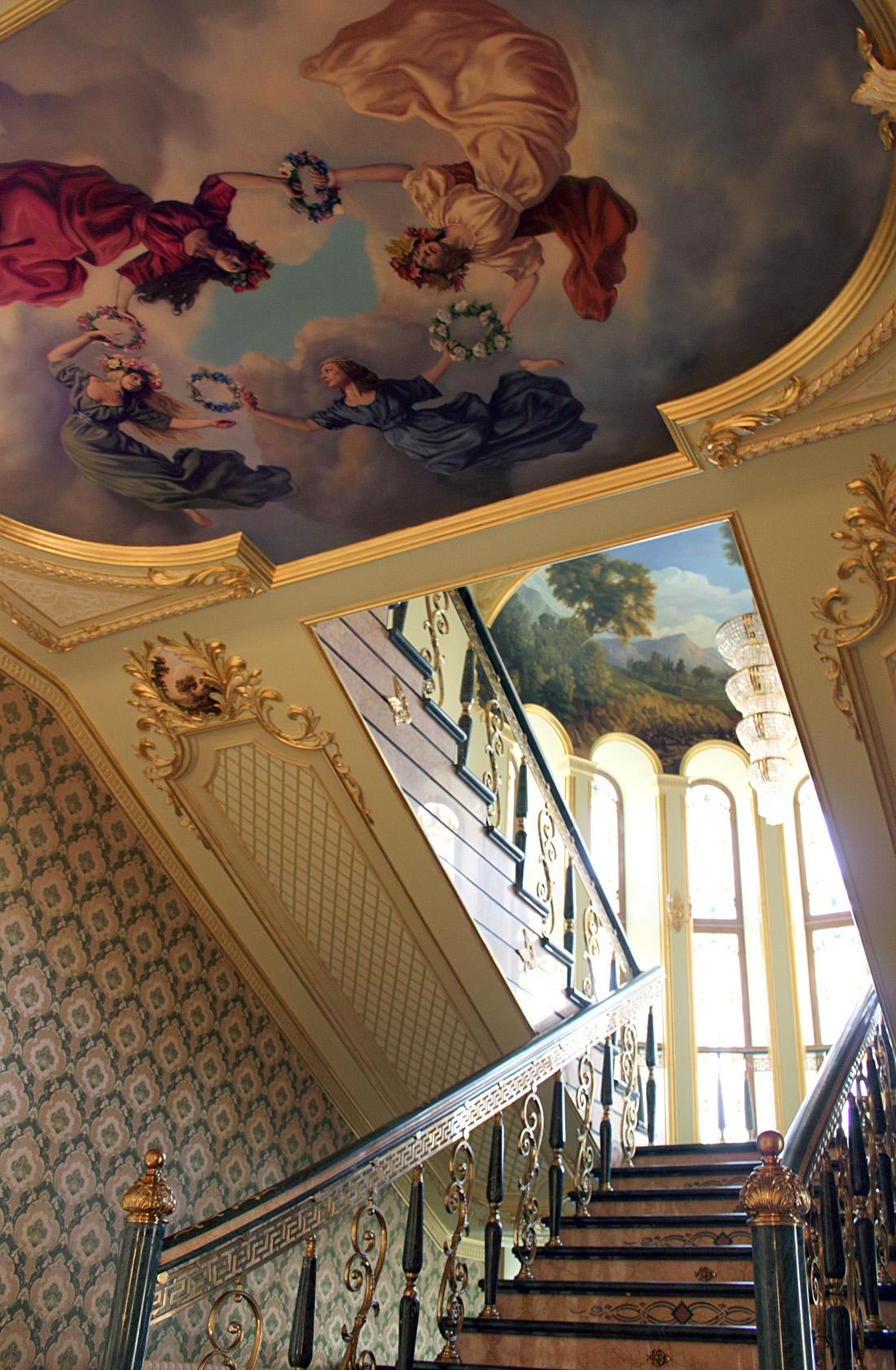 Декор потолка из пенопласта своими руками