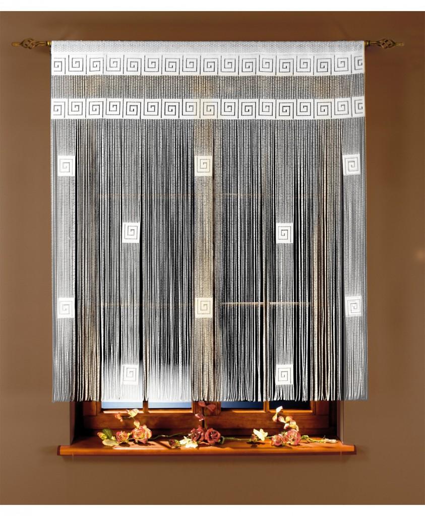 нитяные шторы в интерьере