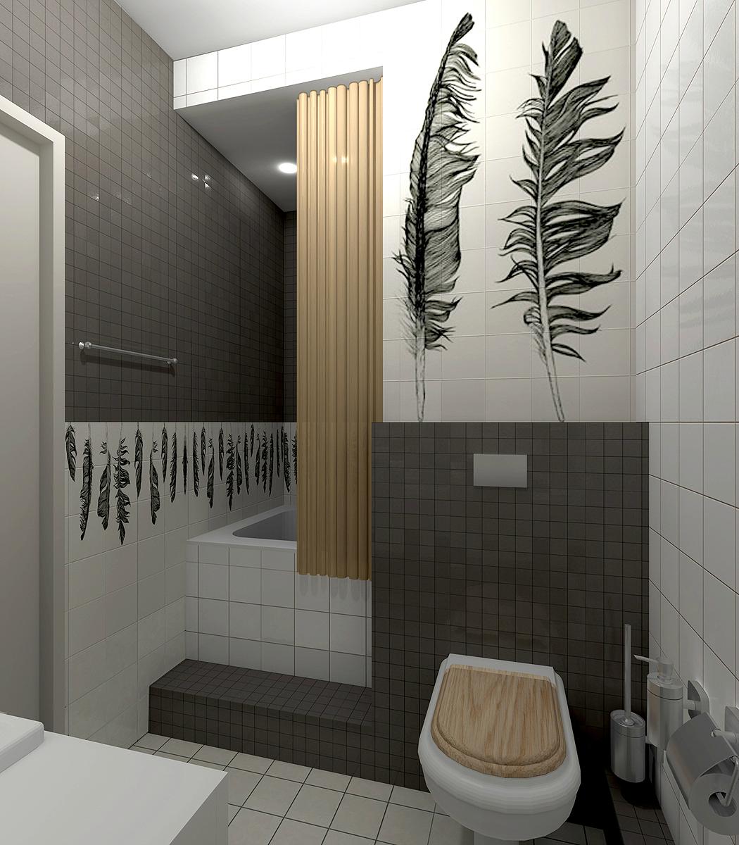 Дизайн туалета 3 кв м фото