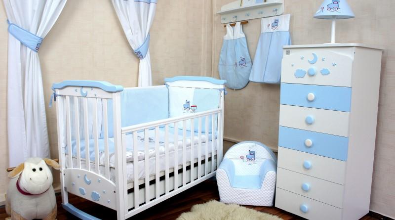 интерьер детской комнаты для малыша