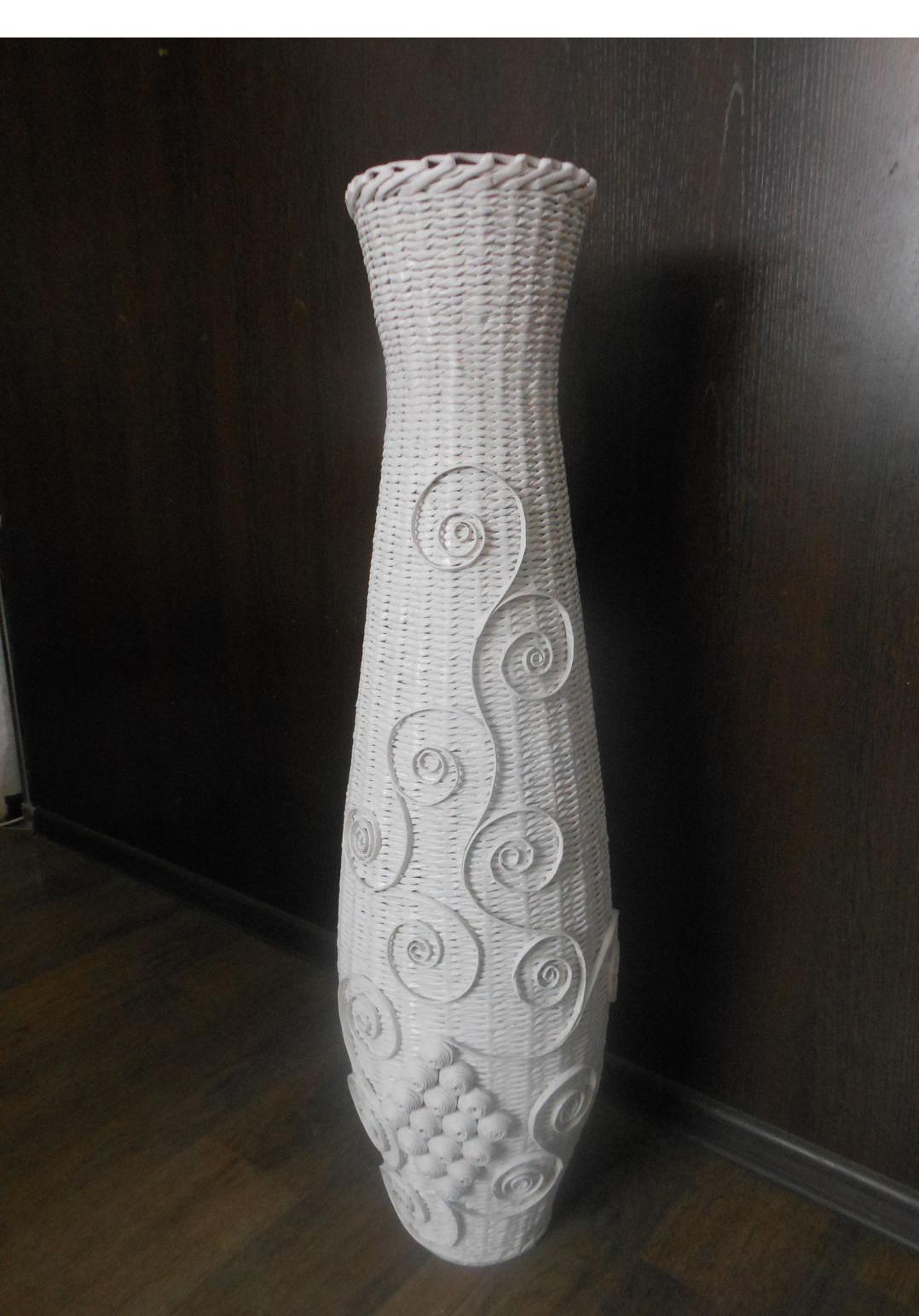 Как сделать напольную вазу мастер класс