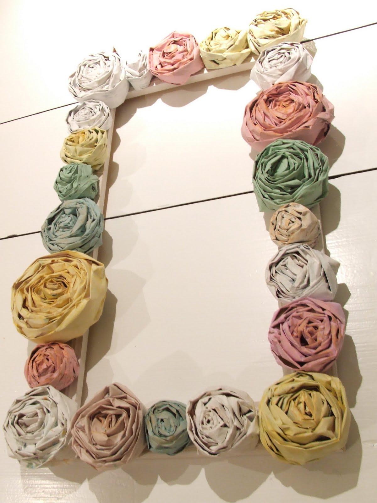 Цветы из а4 своими руками