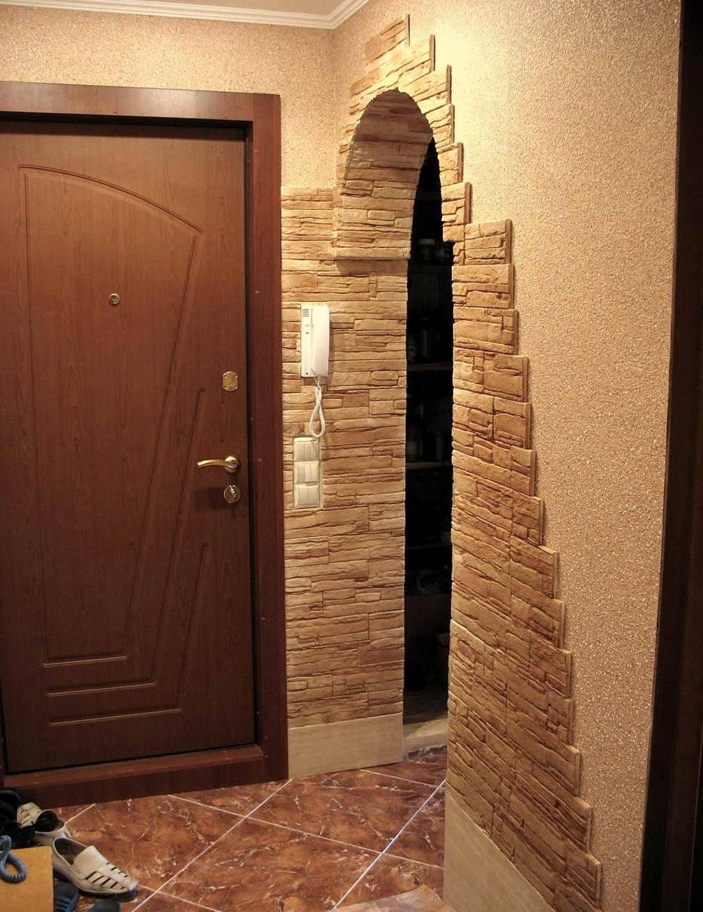 Дизайн арки в прихожей фото