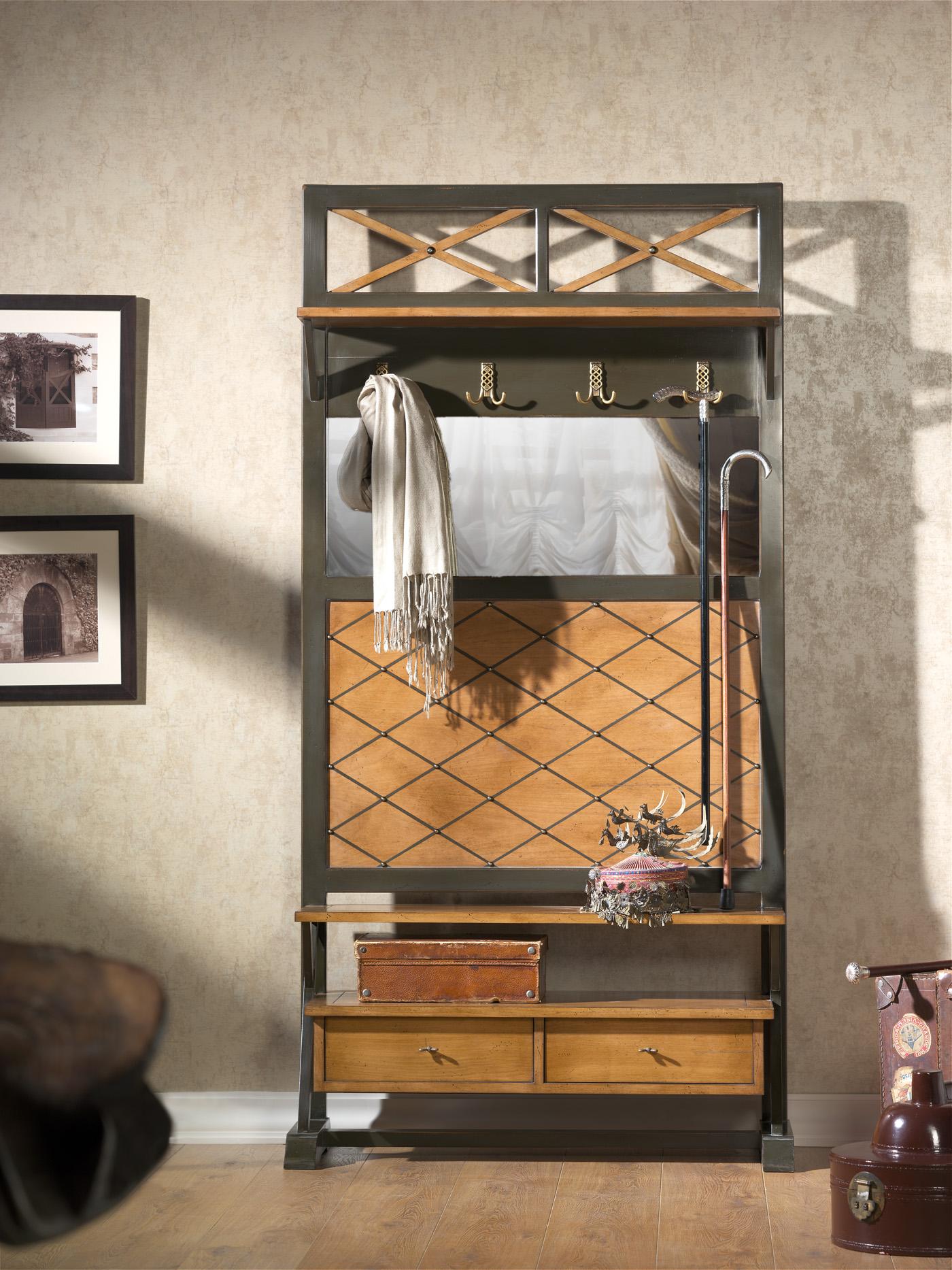Прихожая черная am classic ac3350 , каталог корпусной мебели.
