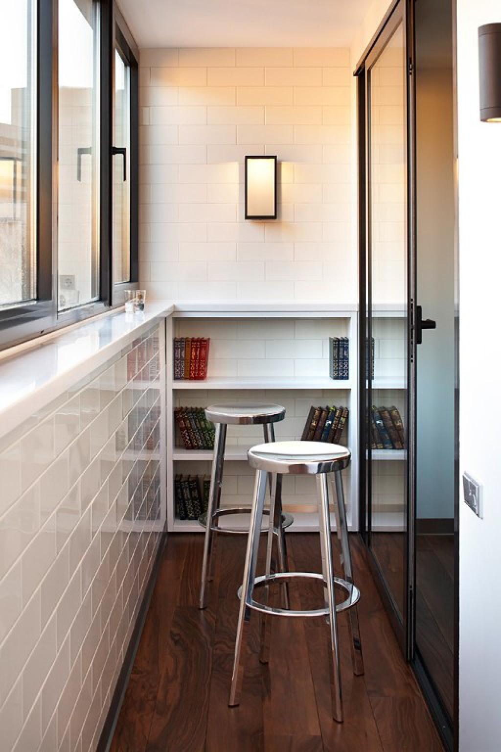 Как задекорировать балкон - несколько интересных идей (40 фо.