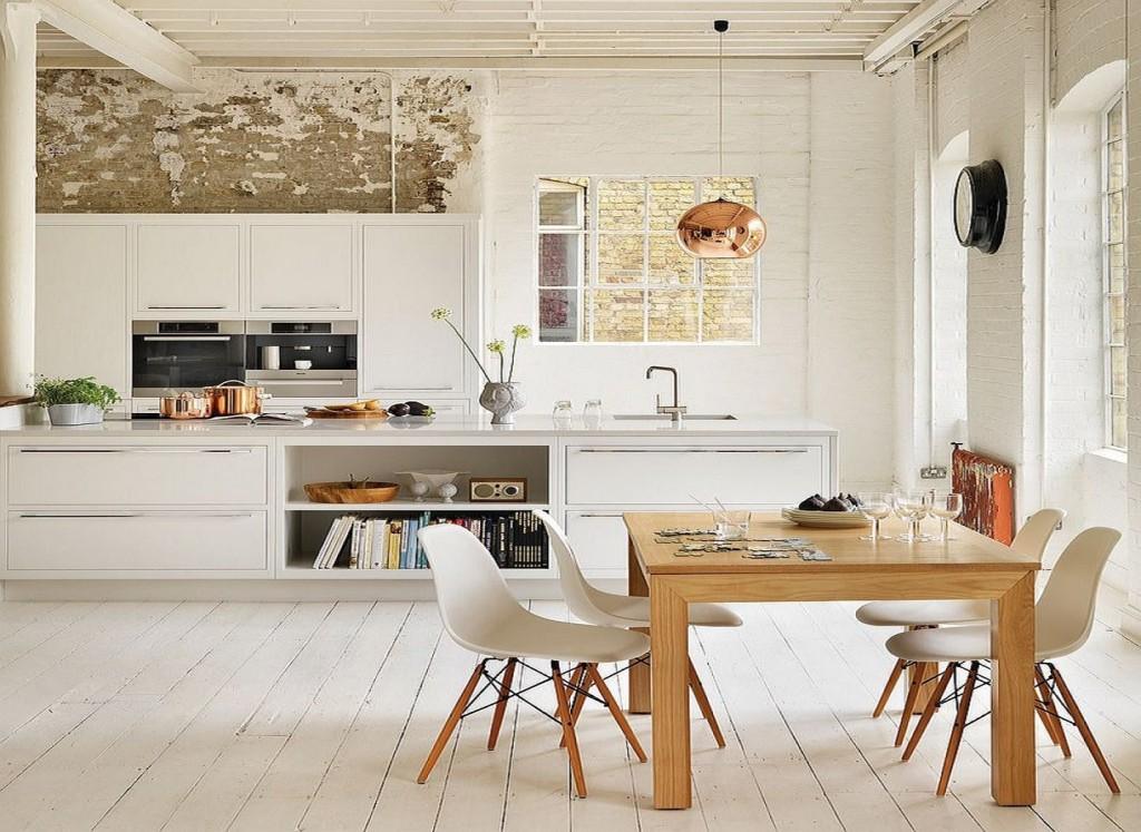 кухня скандинавский стиль