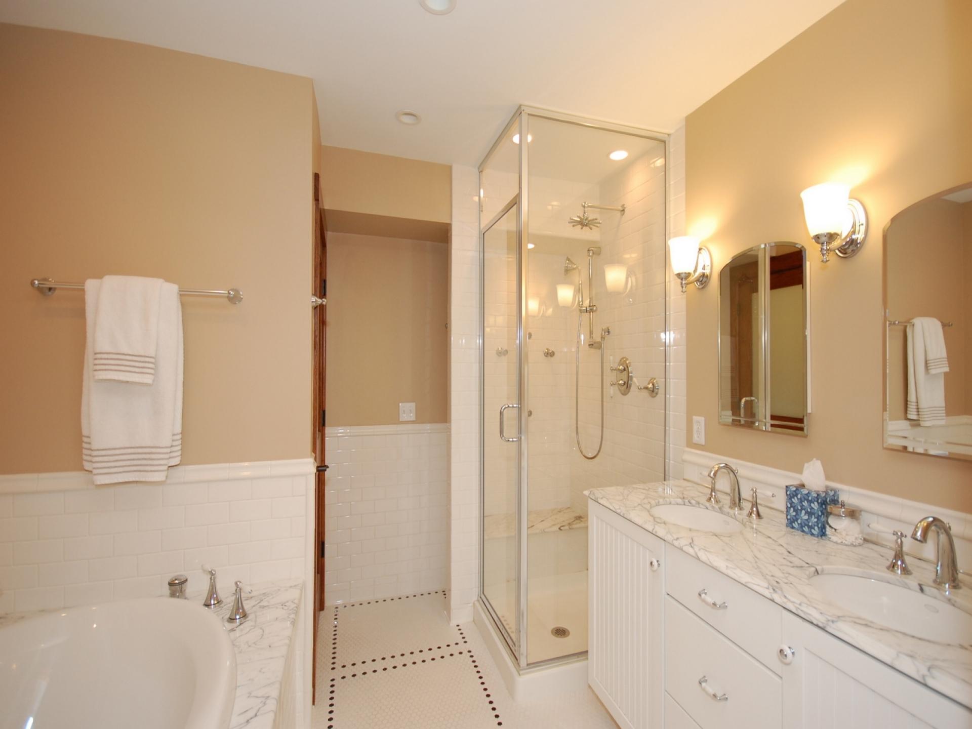 Правильно красить ванную комнату купить смеситель для кухни 2в1