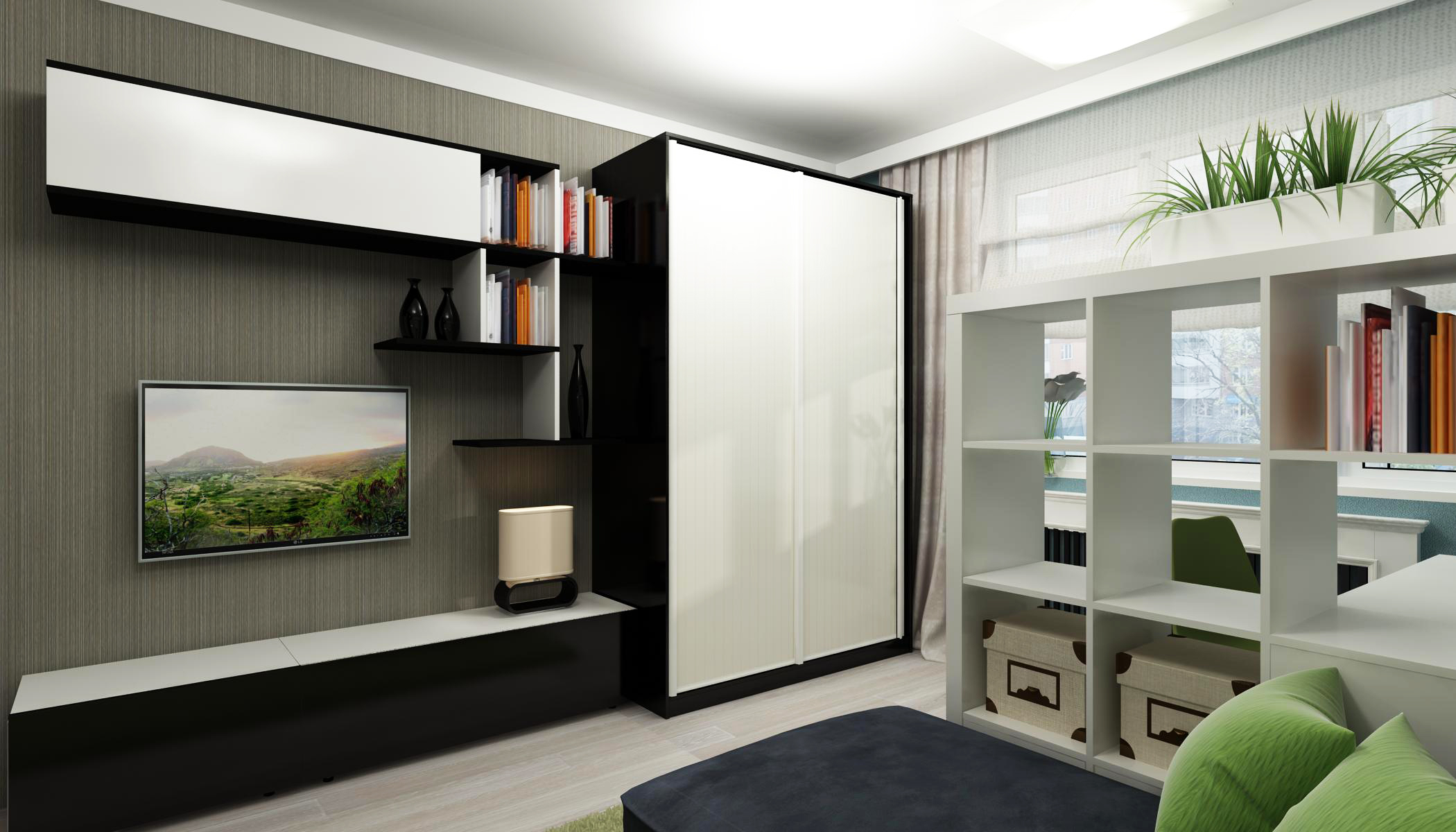 Гостиная со шкафом - фото идеальных вариантов сочетания в ин.