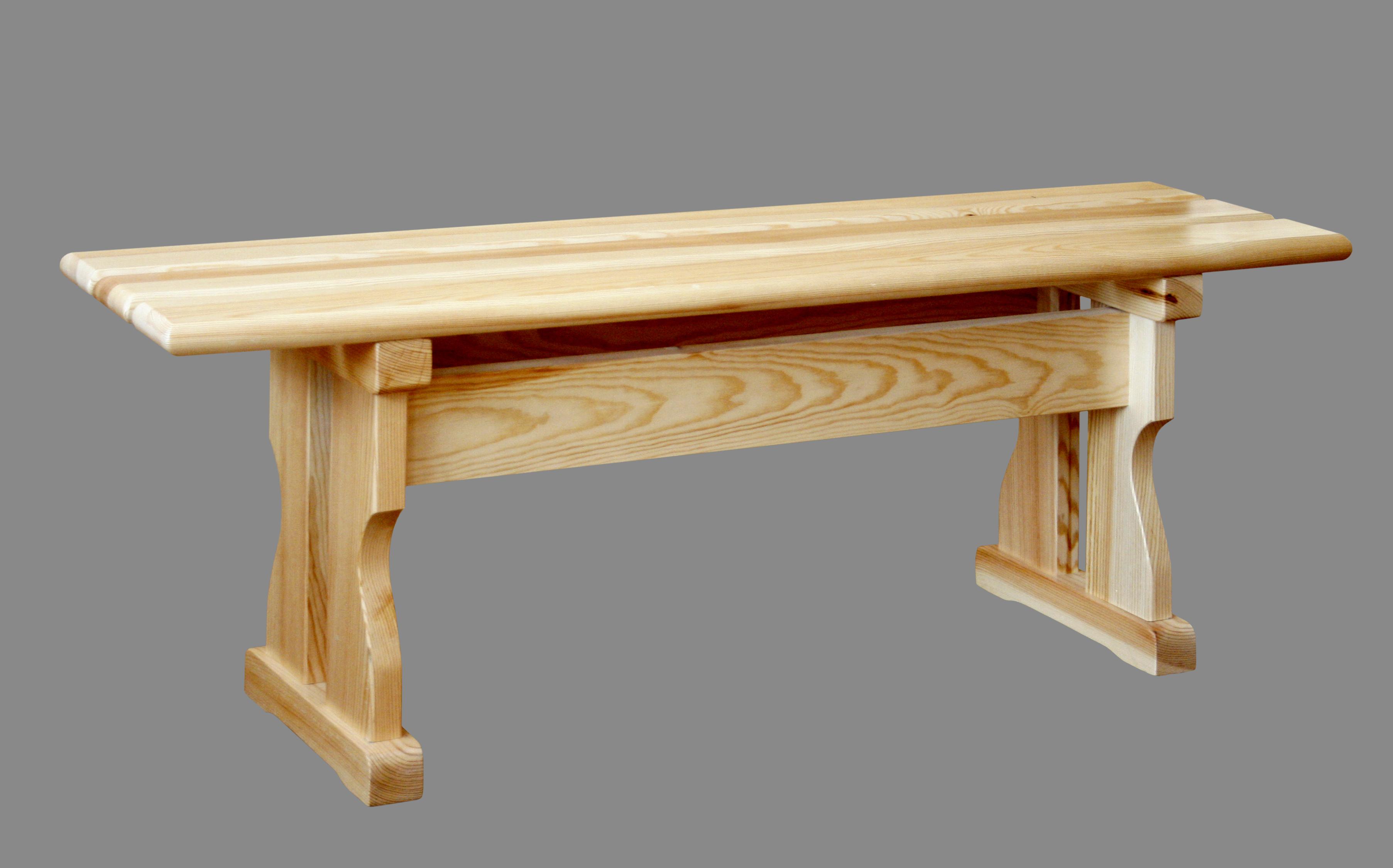 Деревянная скамейка без спинки своими руками