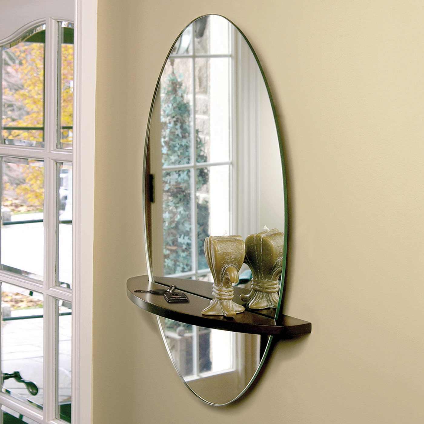 Wall mirror decorating ideas