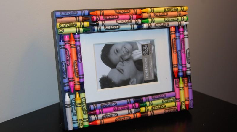 Рамки для фото из карандашей своими руками