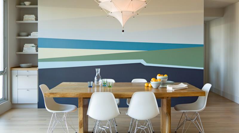 покраска стен в квартире цвета