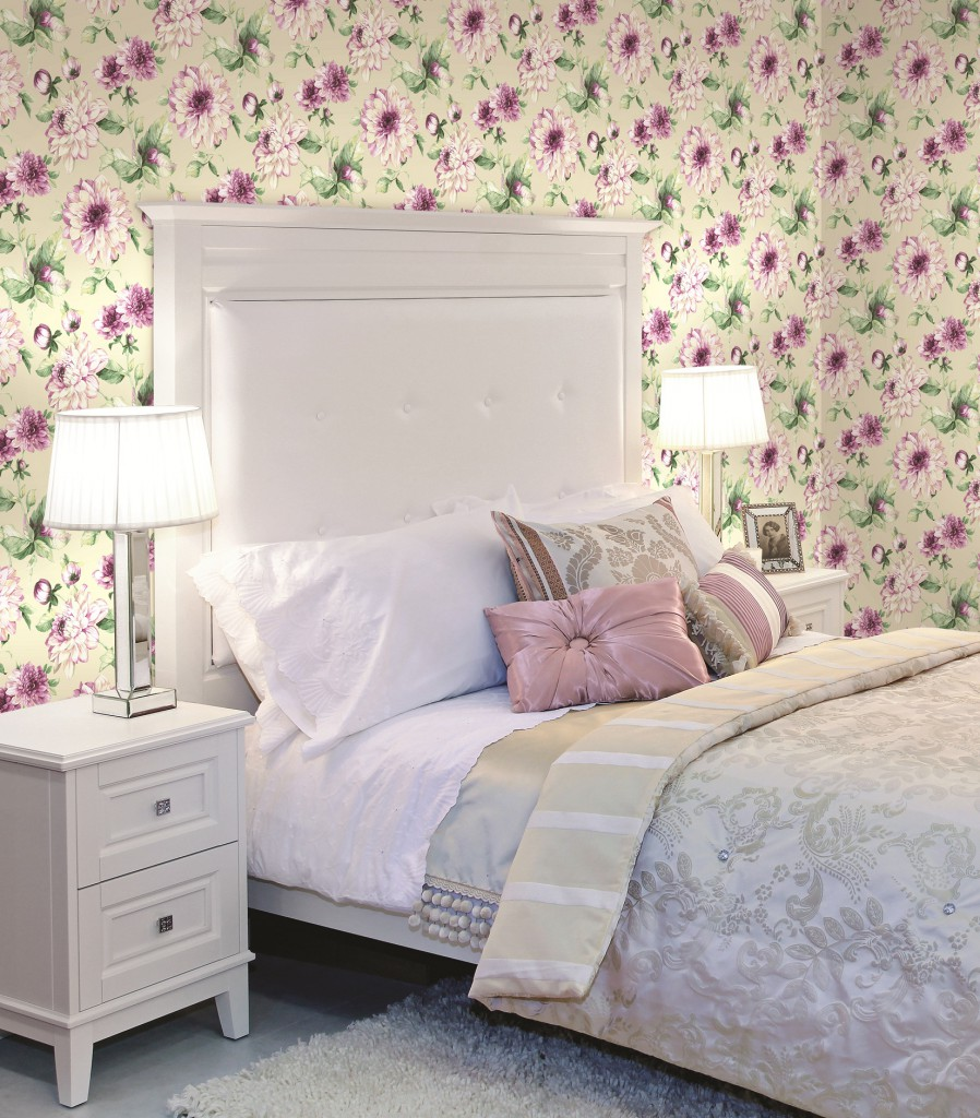 Спальня в зеленых тонах 113
