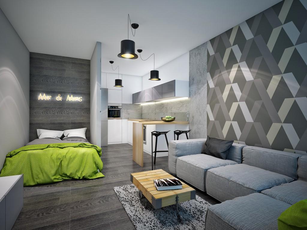 Серый и черный цвет дивана