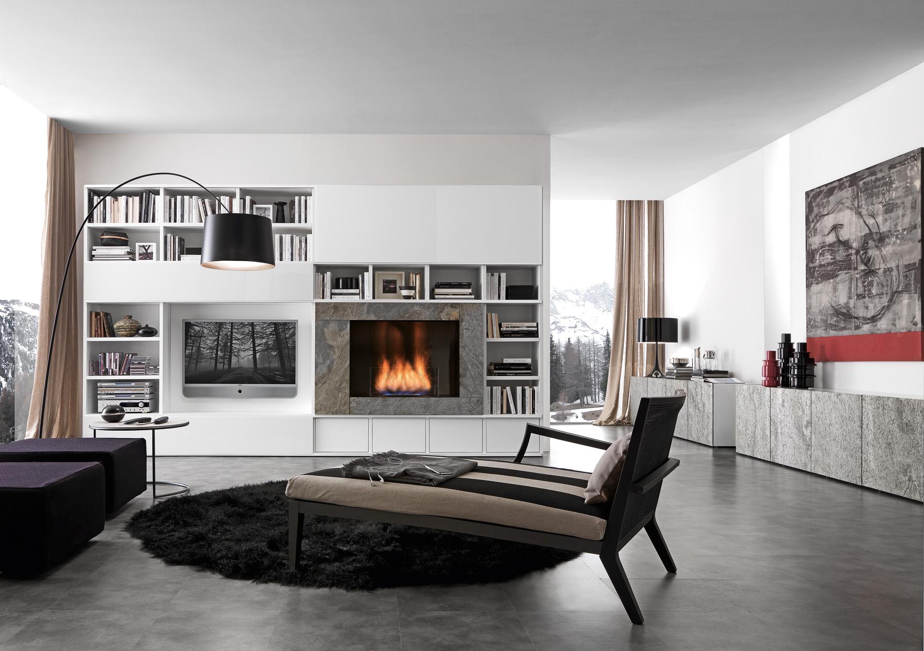 Мебель Для Гостиной С Камином
