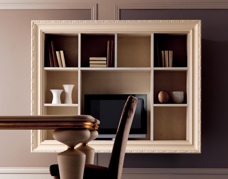 Стильные настенные полки в интерьере дома: все варианты (44 .