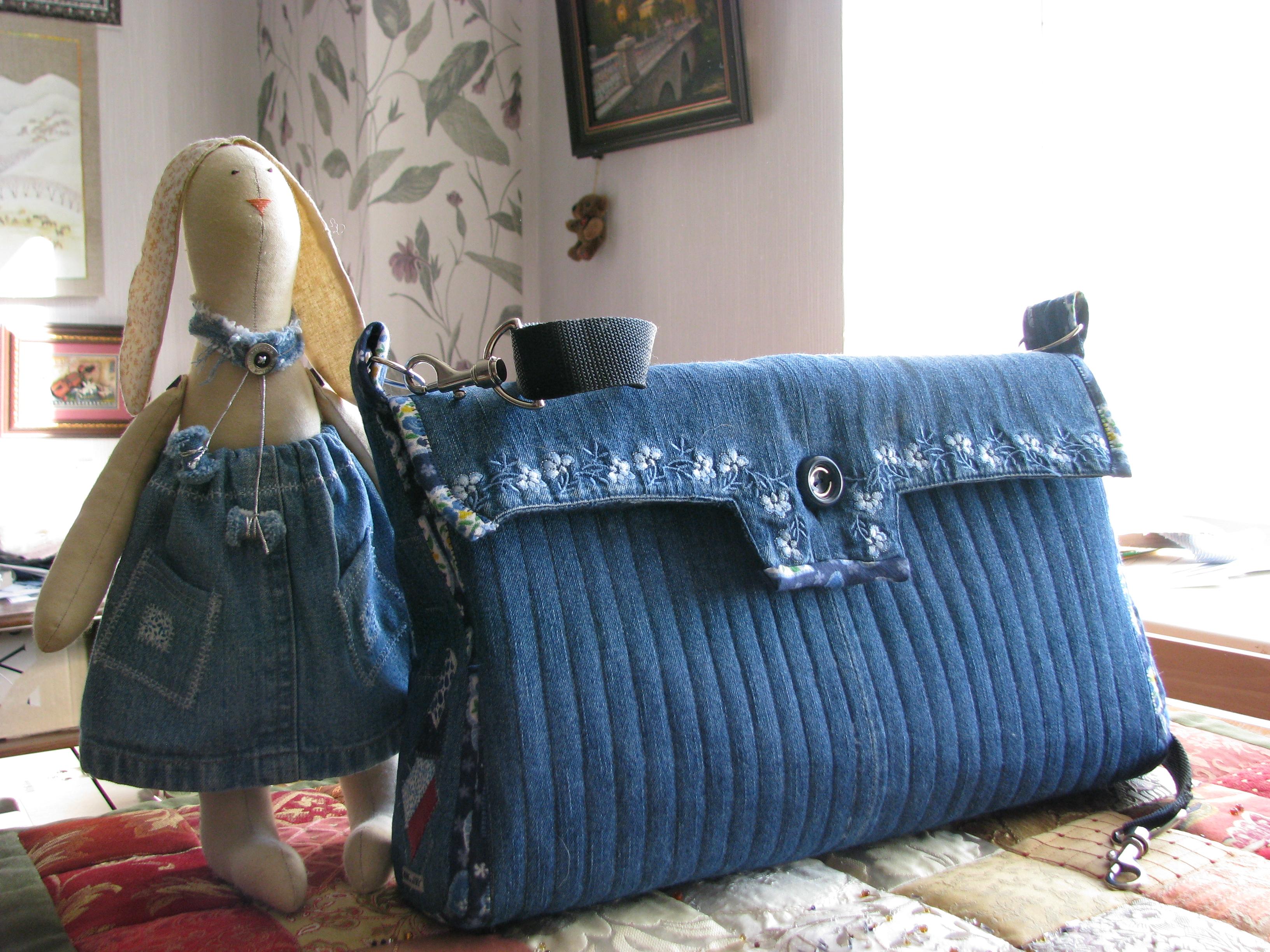 Как сшить покрывало из старых джинсов своими руками мастер класс