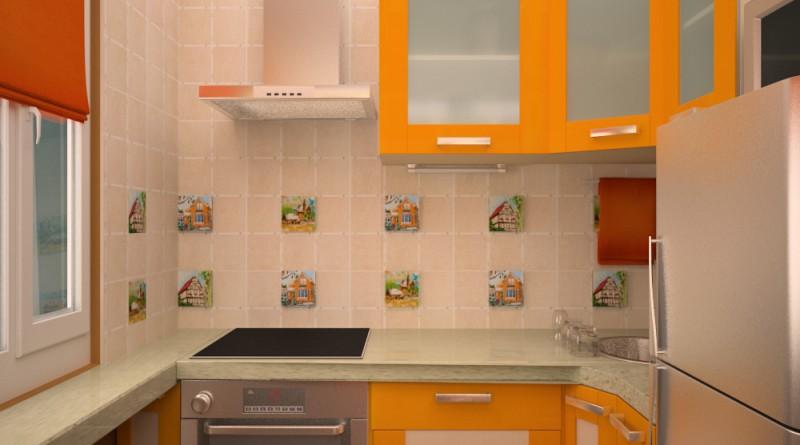Дизайн для маленькой кухни хрущевки