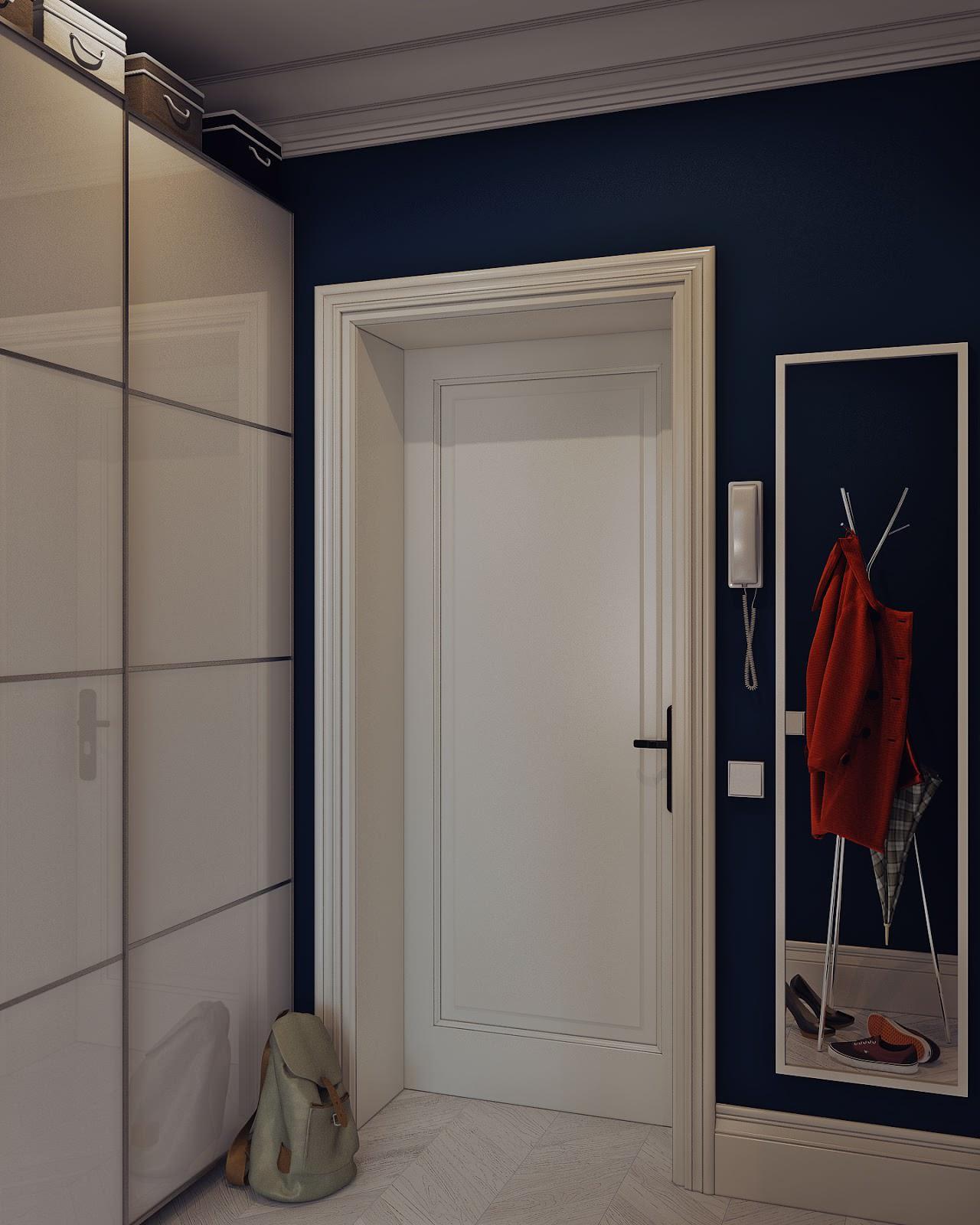 идеальный дизайн прихожей и коридора эргономика интерьера 35 фото