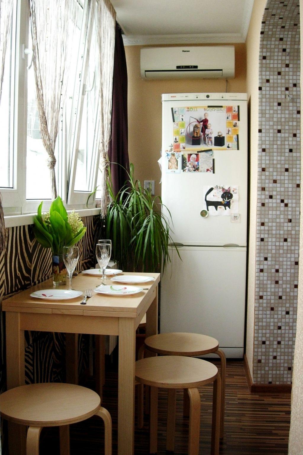 Спальня, детская, кабинет или кухня на лоджии.