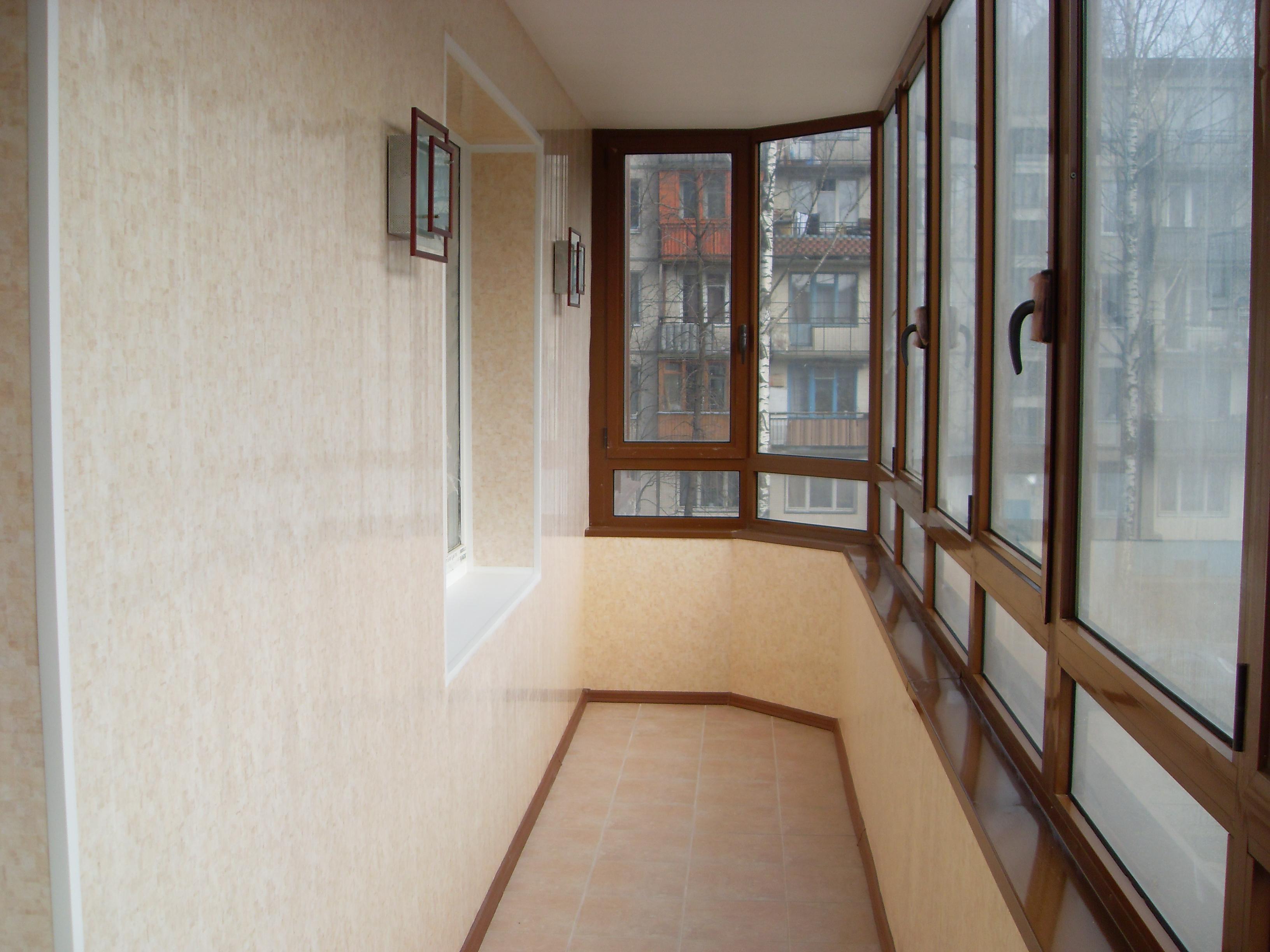 Оформление не застекленного балкона изнутри хрущевка фото..
