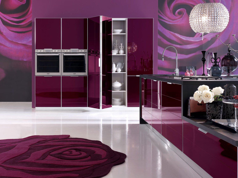 Розово-фиолетовый гарнитур фото 6
