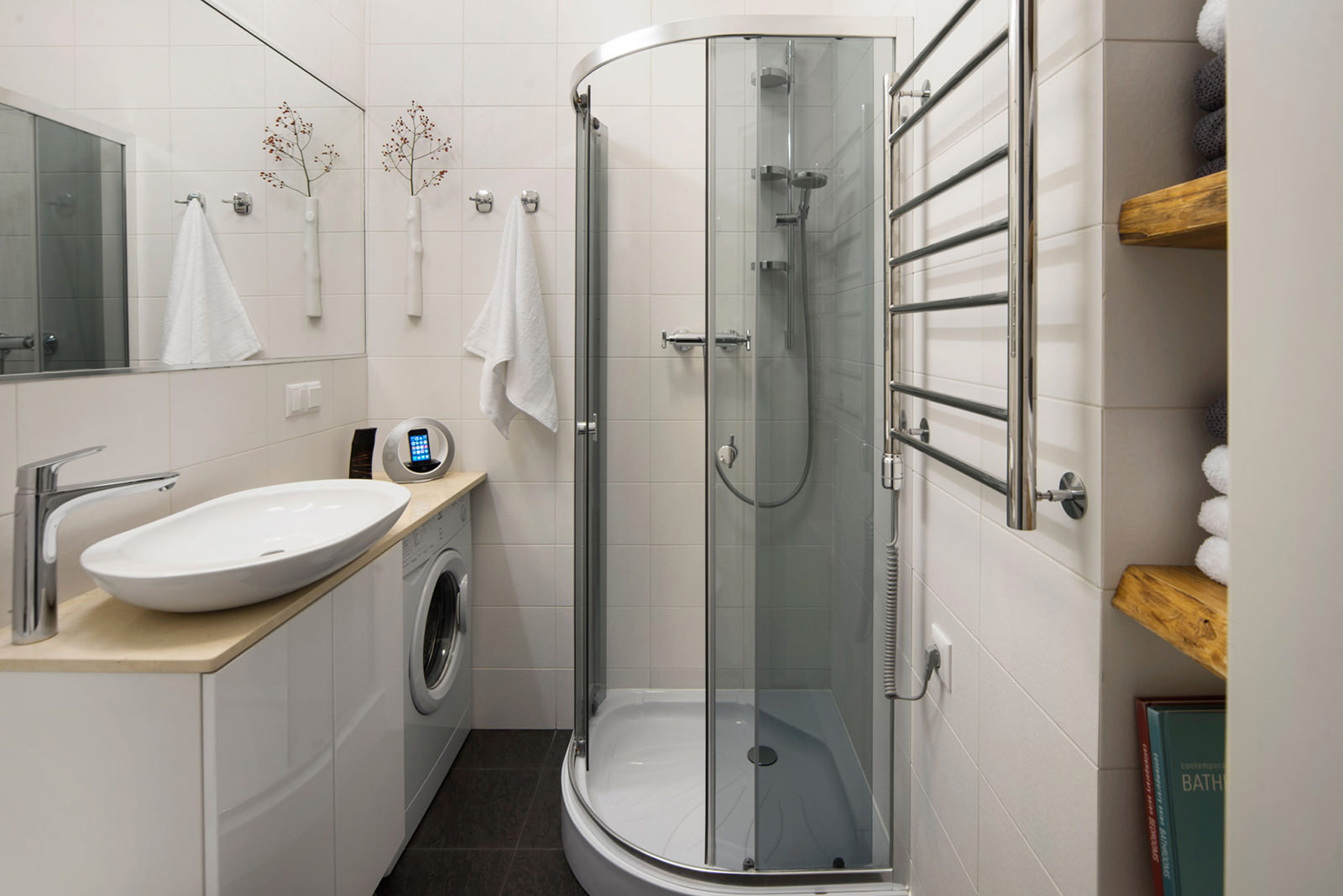 Идеи интерьера ванной в хрущевке. фото
