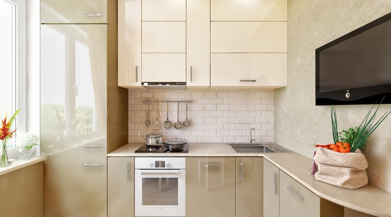 интерьер маленькой кухни 6 кв м
