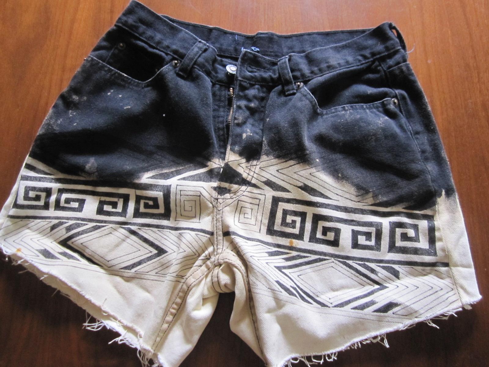 Сшить джинсовые шорты своими руками фото 703