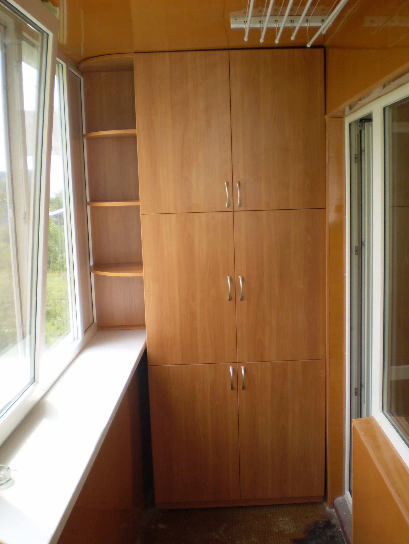 Шкафы на балконе дизайн фото цены.