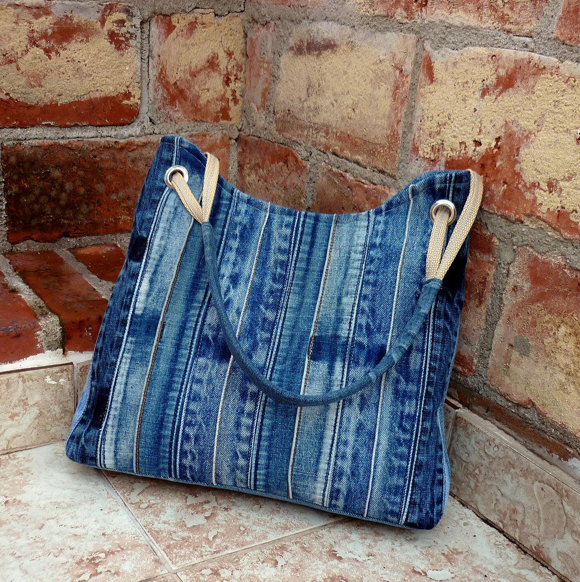 Джинсовые сумки из старых джинсов своими руками