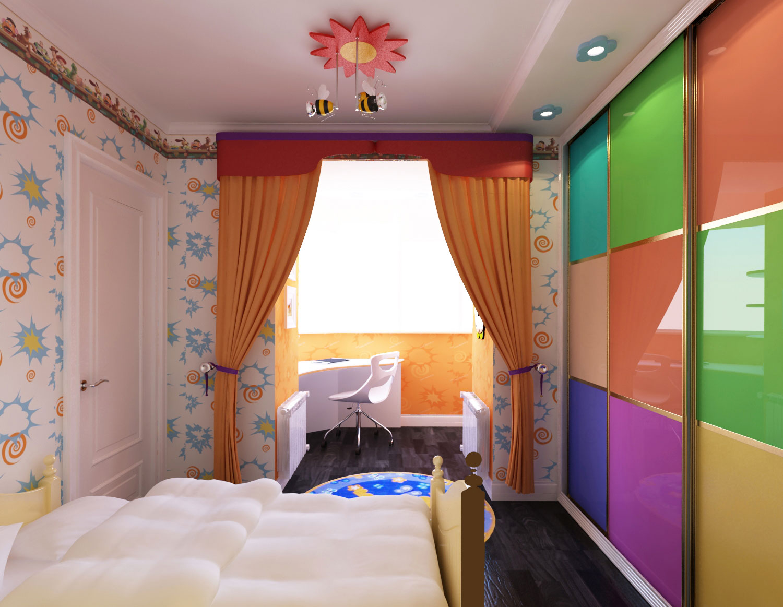 Балкон детская комната фото..