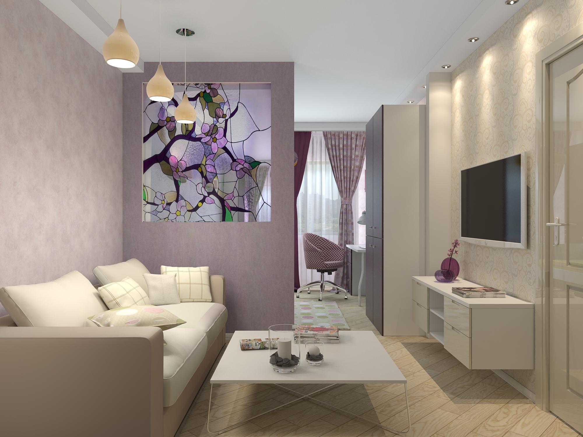 дизайн гостиной в хрущевке оформление зонирование 45 фото