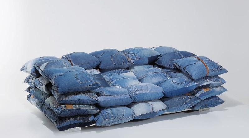 Делаем полезные вещи из старых джинсов своими руками (44 фото) 52