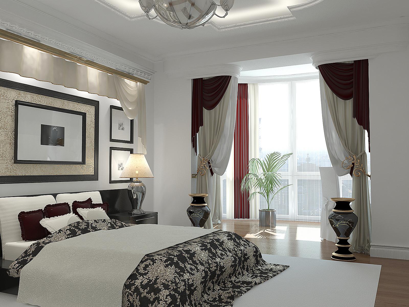 спальня с балконом дизайн с особенностями