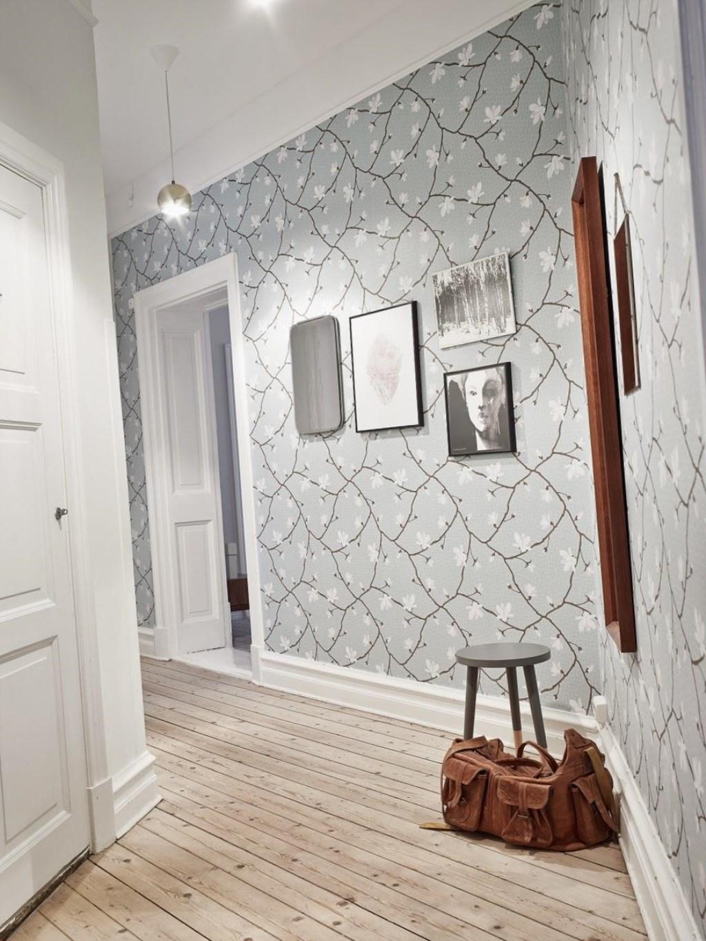 дизайн коридора в трехкомнатной квартире фото